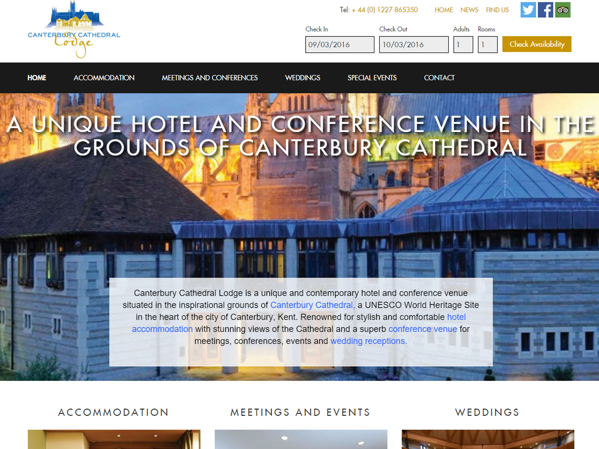 6-2 design web design kent - Canterbury Cathedral Lodge (7)
